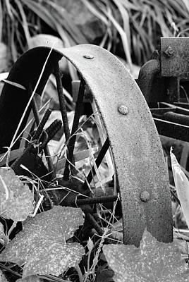 Metal Wheel Poster