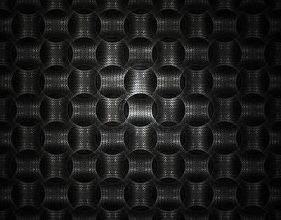Metallic Weave Poster by David April