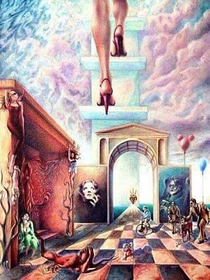 Metaphor Poster by Oscar Benero Lopez