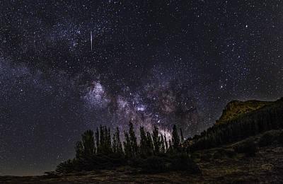 Meteorite  Poster by Guido Montanes Castillo