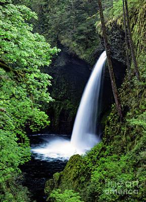 Metlako Falls Waterfall Art By Kaylyn Franks Poster