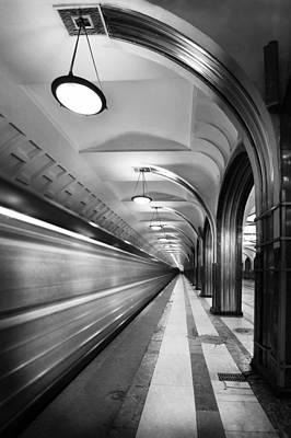 Metro #5147 Poster by Andrey Godyaykin