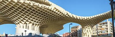 Metropol Parasol, Seville, Spain Poster