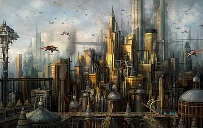 Metropolis Poster by Philip Straub