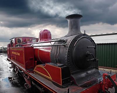 Old Metropolitan Steam Train Poster by Gill Billington