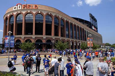 Mets Stadium - Queens New York Poster