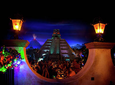 Mexico Pavilion At Epcot Poster