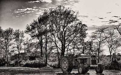Mf 285 Tractor Poster