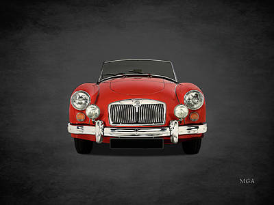 Mg Mga 1500 Poster by Mark Rogan