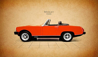 Mg Midget 1500 Poster by Mark Rogan
