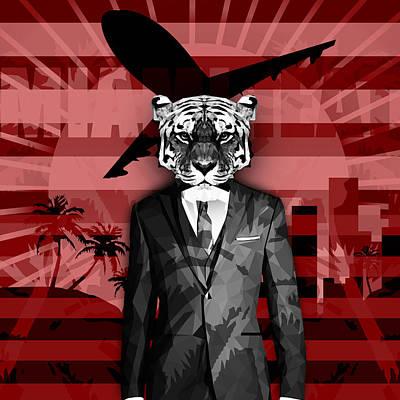 Miami Retro Poster by Gallini Design