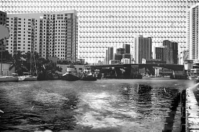 Miami Vintage Vibe Poster