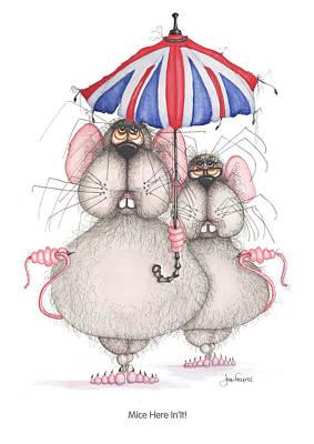 Mice Here In'it Poster by John Faulkner