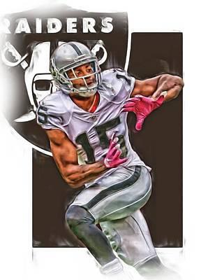 Michael Crabtree Oakland Raiders Poster
