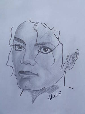 Michael Jackson Poster by Akol Jayjay