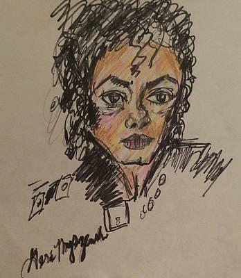 Michael Jackson Poster by Geraldine Myszenski