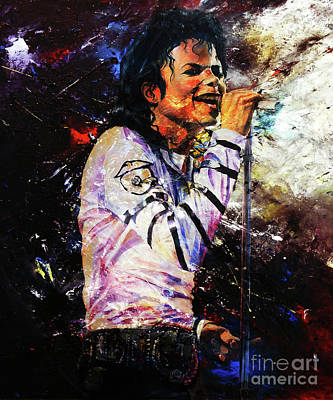 Michael Jackson  Poster by Gull G