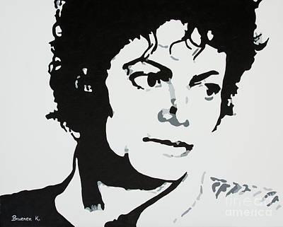 Michael Jackson Poster by Katharina Filus