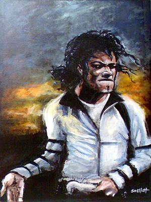 Michael Jackson Moonwalker Poster by SD Elliott