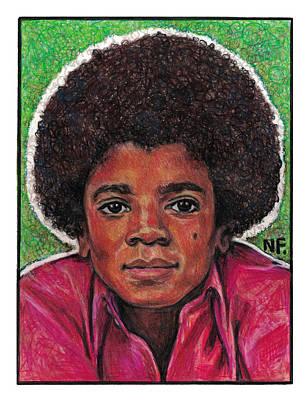 Michael Jackson Poster by Neil Feigeles
