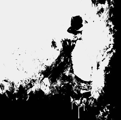 Michael Jackson Paint Splatter 4e Poster
