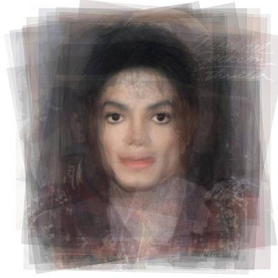 Michael Jackson Portrait Poster by Steve Socha