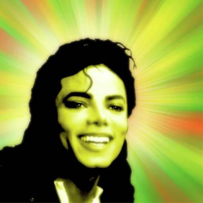 Michael Jackson Poster by Stephanie Brock