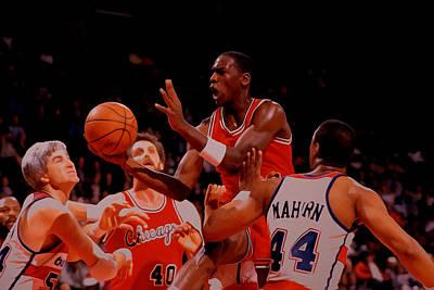 Michael Jordan 1984 Rookie Year Poster