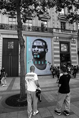 Michael Jordan 2 Poster by Andrew Fare