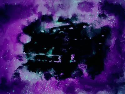 Michael Jordan Nebula Poster