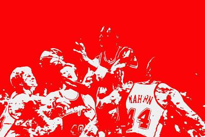 Michael Jordan Style And Grace 2 Poster
