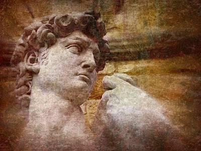 Michelangelo's David Poster by Jen White