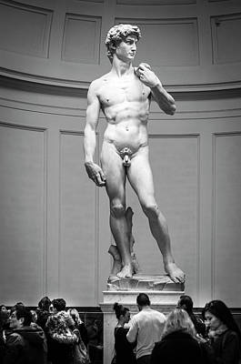Michelangelo's David Poster by Sonny Marcyan