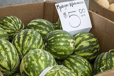 Michigan Watermelon  Poster by John McGraw