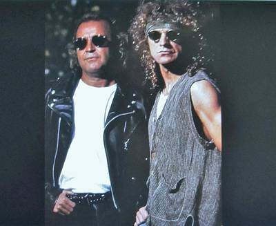 Mick Jones And Lou Gramm Of Foreigner Poster