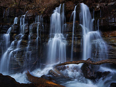 Middle Creek Falls Poster