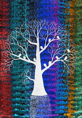 Midnight Birds Poster by Sumit Mehndiratta