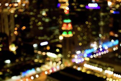 Midnight In Denver Poster by Ralph Daher