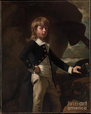 Midshipman Augustus Brine Poster