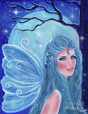 Midsummer Nights Dream Poster by Renee Lavoie