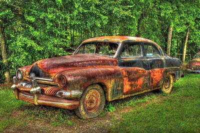 Mighty Mercury 1951 4 Door Sedan Poster