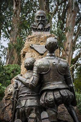 Miguel De Cervantes Memorial Poster