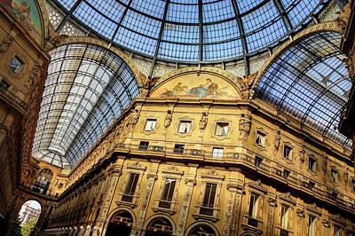 Milan Galleria Vittorio Emanuele II  Poster