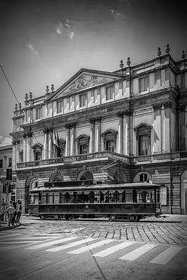 Milan Teatro Alla Scala Poster by Melanie Viola