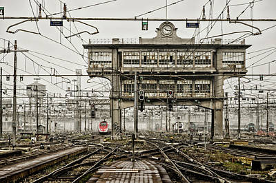 Milano Centrale 2 Poster by Pablo Lopez