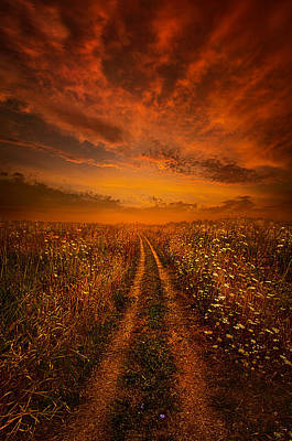 Miles And Miles Away Poster by Phil Koch
