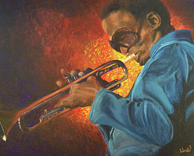 Miles Poster by Bill Werle