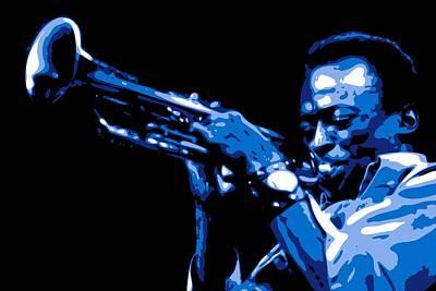 Miles Davis Poster by DB Artist