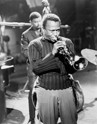 Miles Davis, In A Publicity Still Poster