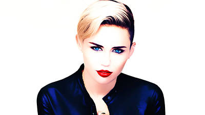 Miley Cyrus Adore You Poster
